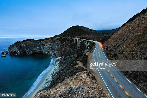 Highway 1 at Big Sur