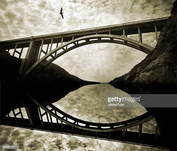 Highway 1, Bixby Bridge, Big Sur, California, USA