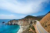Highway 1 near Big Sur