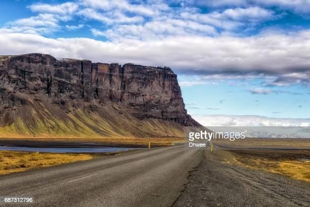 Highway 1 To Skaftafel National Park Iceland