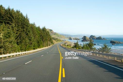 Highway 101 along the Oregon Coast.