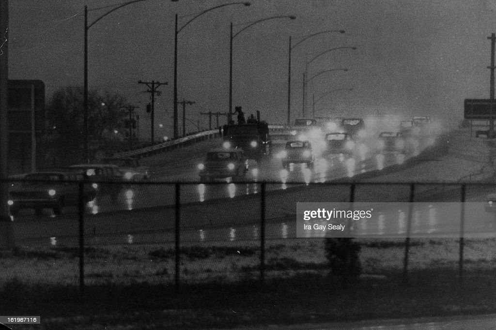 JAN 20 1968 JAN 22 1968 Highway 25 Once Upon a Monday Dreary came Denver Drivers Winter Weary the metropolitan area Monday afternoon This was the...