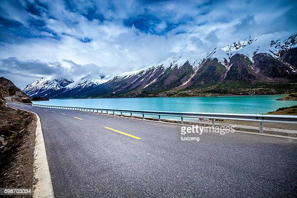highway and beautiful landscape