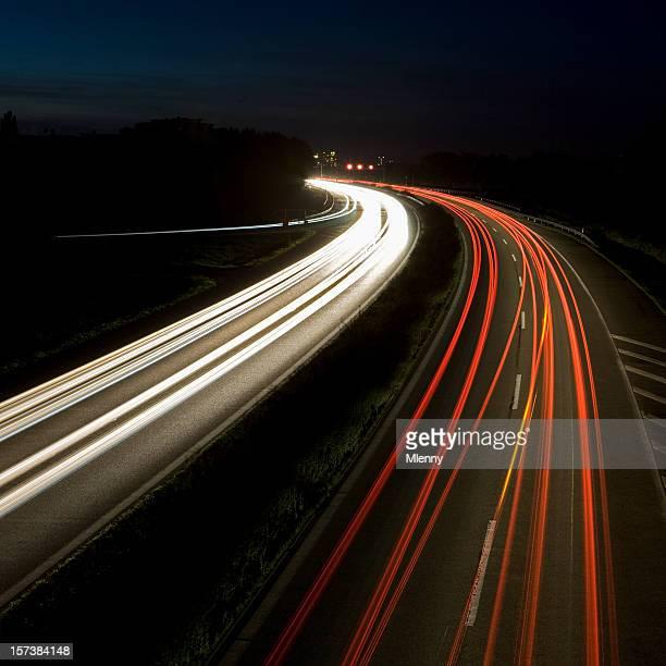 Highway at Nightime