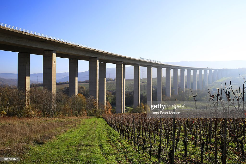 highway bridge near Riol, Moselle Valley, Germany
