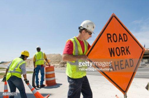Highway Construction Workers