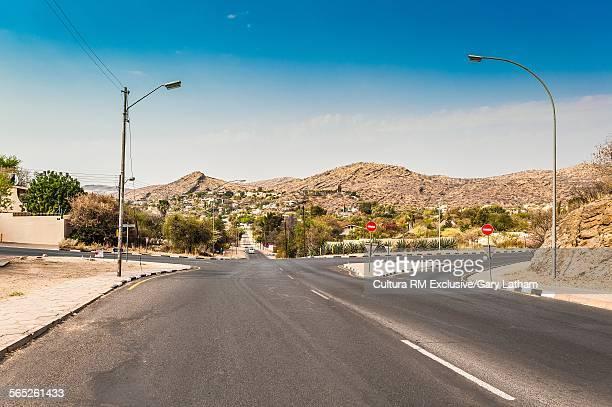 Highway in downtown Windhoek, Namibia, Namibia