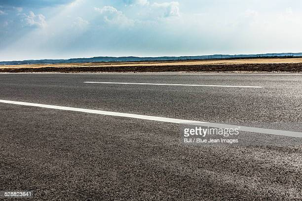 Highway in Inner Mongolia province, China