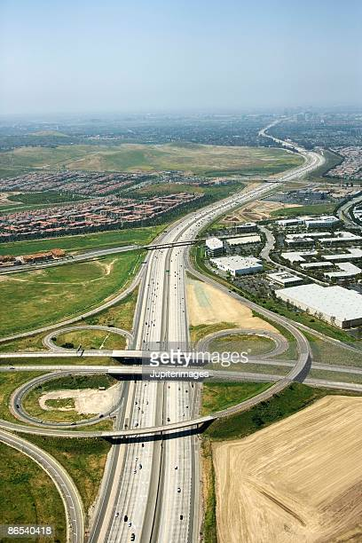 Highway in Irvine, California