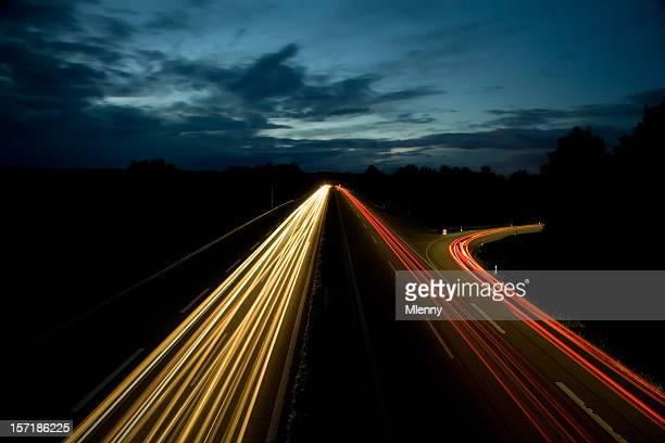Autoroute dans la nuit II