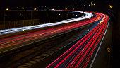 Highway, long exposure 16:9 ratio.