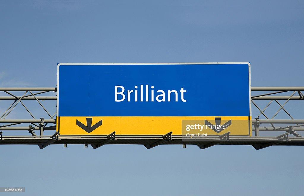 Highway sign.