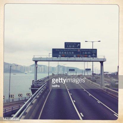 Highways at harbor