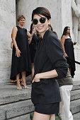 Salvatore Ferragamo - Arrivals - Milan Fashion Week...
