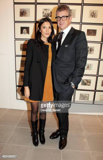 Hikari Yokoyama and Jay Jopling attend the patron's private view of 'Jake and Dinos Chapman Come and See' a new exhibition at The Serpentine Sackler...
