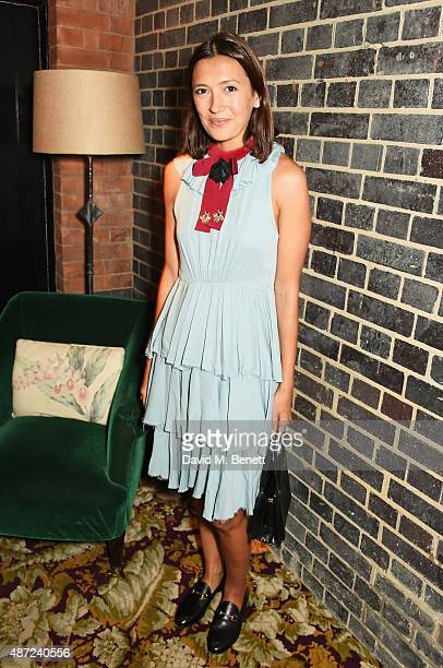 Hikari Yokoyama attends a dinner party hosted by Leith Clark to celebrate the latest issue of her biannual style bible 'Violet' featuring British...