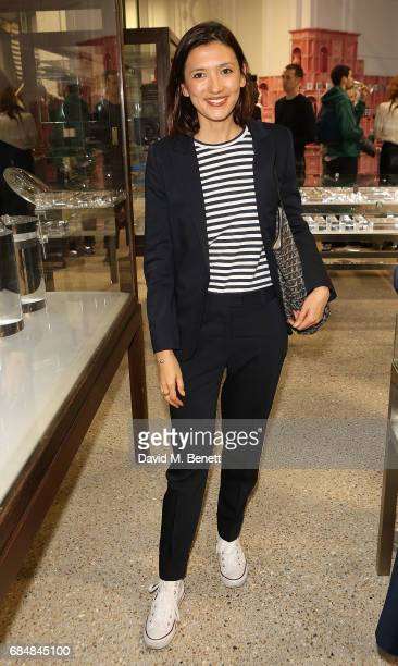 Hikari Yokoyama attends an open house hosted by Dover Street Market to celebrate Photo London on May 18 2017 in London England