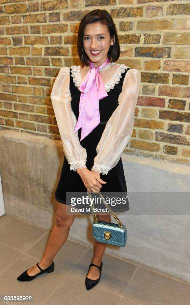 Hikari Yokoyama attends as Dylan Jones and Marco Bizzarri host a cocktail party to launch new film series 'The Performers' at The Serpentine Gallery...