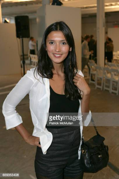 Hikari Yokoyama attends LODEN DAGER Spring/Summer 2010 Collection at 531 W 25th on September 11 2009 in New York City