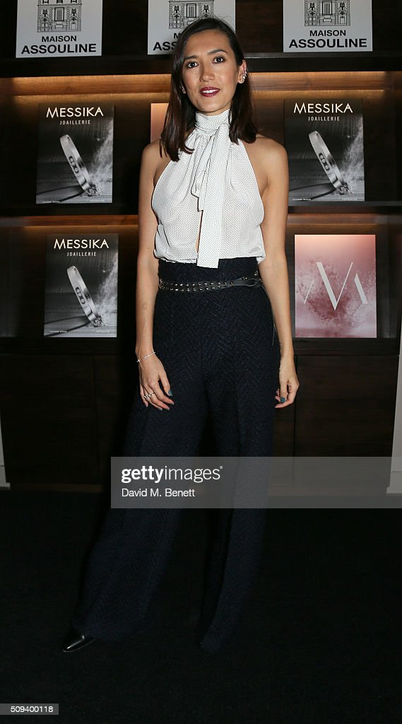 Hikari Yokoyama attends the launch of 'Messika Joaillerie' by Vivienne Becker at Maison Assouline on February 10, 2016 in London, England.