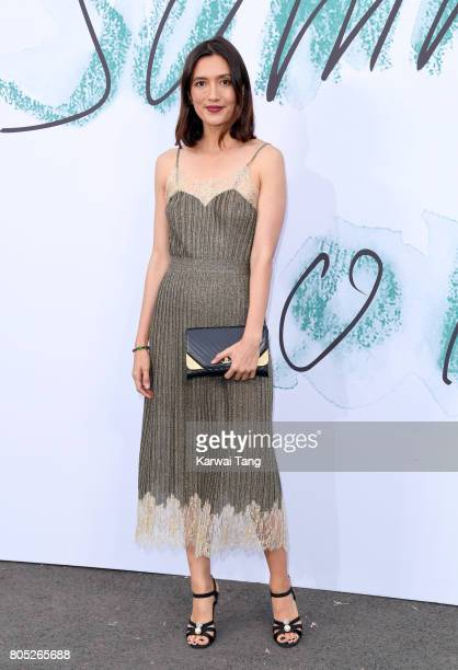 Hikari Yokoyama attends The Serpentine Gallery Summer Party at The Serpentine Gallery on June 28 2017 in London England