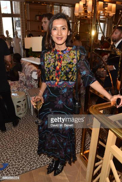 Hikari Yokoyama attends the Tory Burch Regent Street opening on May 22 2017 in London England