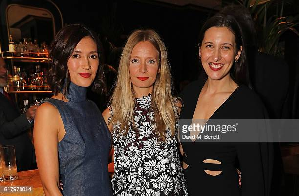 Hikari Yokoyama Martha Ward and Emilia Wickstead attend a private dinner hosted by Hikari Yokoyama to celebrate the Harper's Bazaar charity auction...