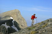 A hiker climbs Mount Olympus the legendary home of the ancient Greek gods in central Greece Seeking to diversify from the country's usual sea and sun...