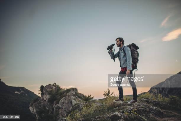 Wanderer-Mann Abenteuer