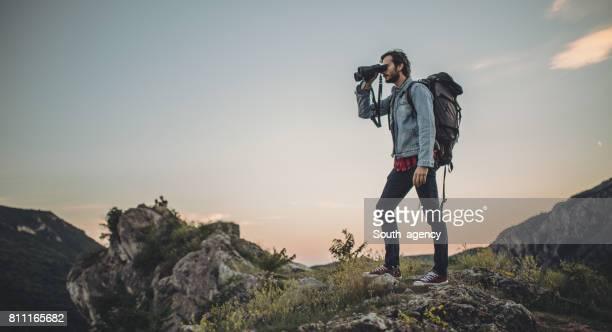 Wanderer auf Abenteuer