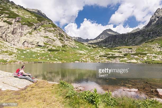 Wanderer ´ s Kurzurlaub in Hohe Tatra, Slowakei