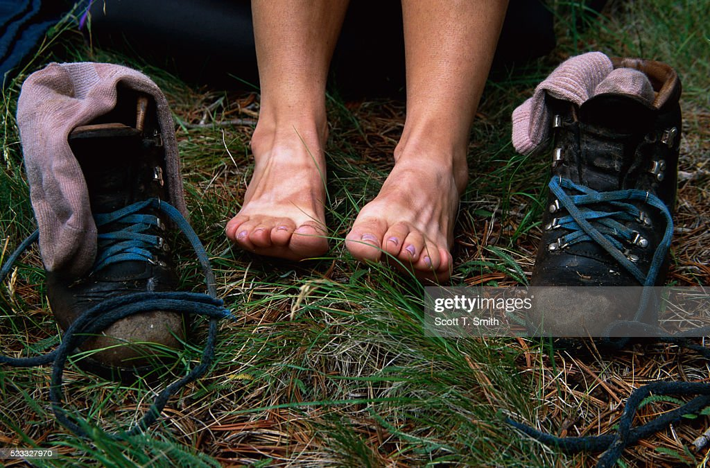 Hiker's Feet, Boots, and Socks