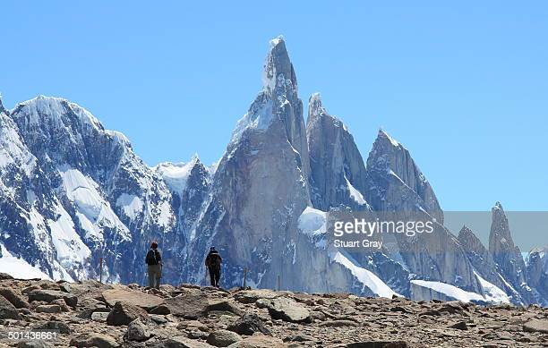 Hikers near Fitz Roy
