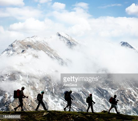 hikers : Stock Photo