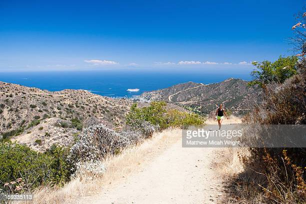 Hikers trek the Hermit Gulch Trail