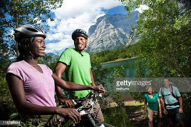 Hiking and Biking in the Mountains