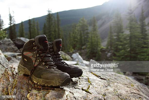 Hiking Boots In Scenery 05