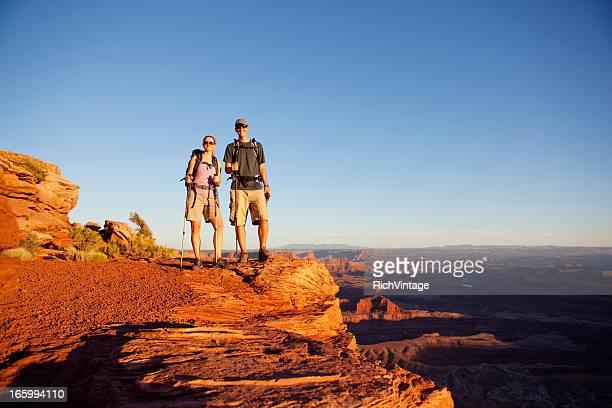 Escursionismo coppia