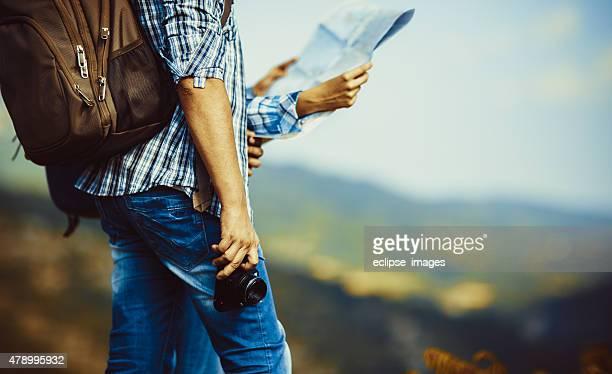 Wandern Paar