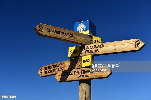 Hiking, Gran Canaria, Canary Islands, Spain.