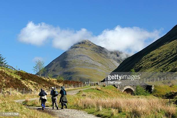 Randonnée en Écosse