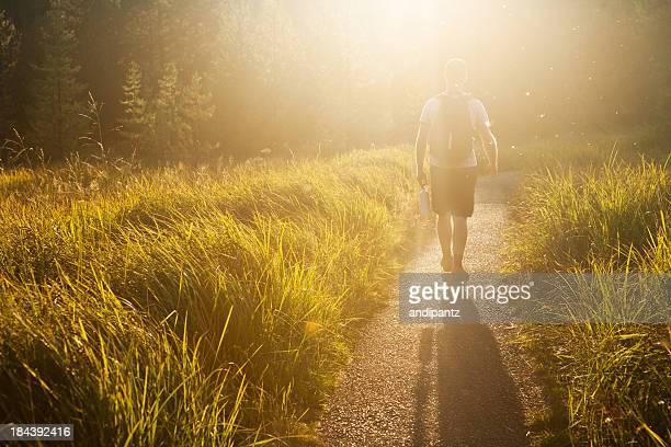 Wandern in Oregon Sonnenuntergang