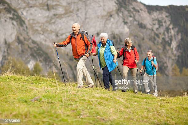 hiking seniors