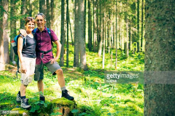 Anziani da hiking