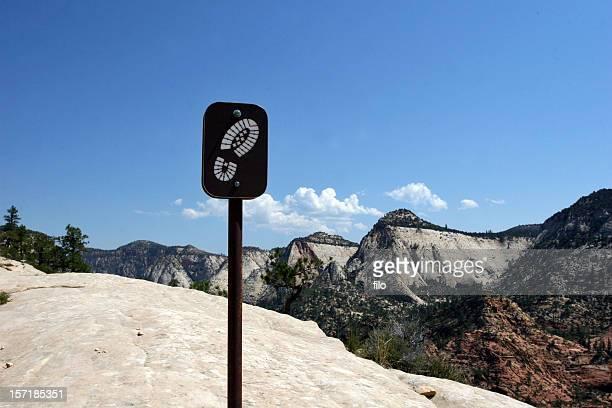 Wandern-Schild