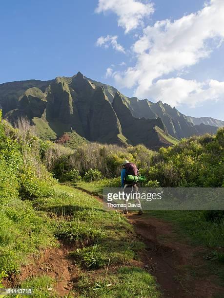 Hiking to Kalalau