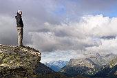 Hiking trip swiss alps