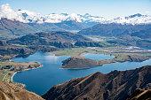 Beauty in Alpine mountain nature