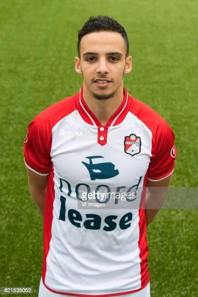 Hilal Ben Moussa during the team presentation of FC Emmen on July 24 2017 at the De Jens Vesting in Emmen The Netherlands