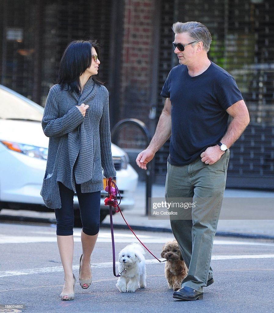<a gi-track='captionPersonalityLinkClicked' href=/galleries/search?phrase=Hilaria+Baldwin&family=editorial&specificpeople=7856471 ng-click='$event.stopPropagation()'>Hilaria Baldwin</a> and <a gi-track='captionPersonalityLinkClicked' href=/galleries/search?phrase=Alec+Baldwin&family=editorial&specificpeople=202864 ng-click='$event.stopPropagation()'>Alec Baldwin</a> (R) are seen in the West Village on May 4, 2013 in New York City.